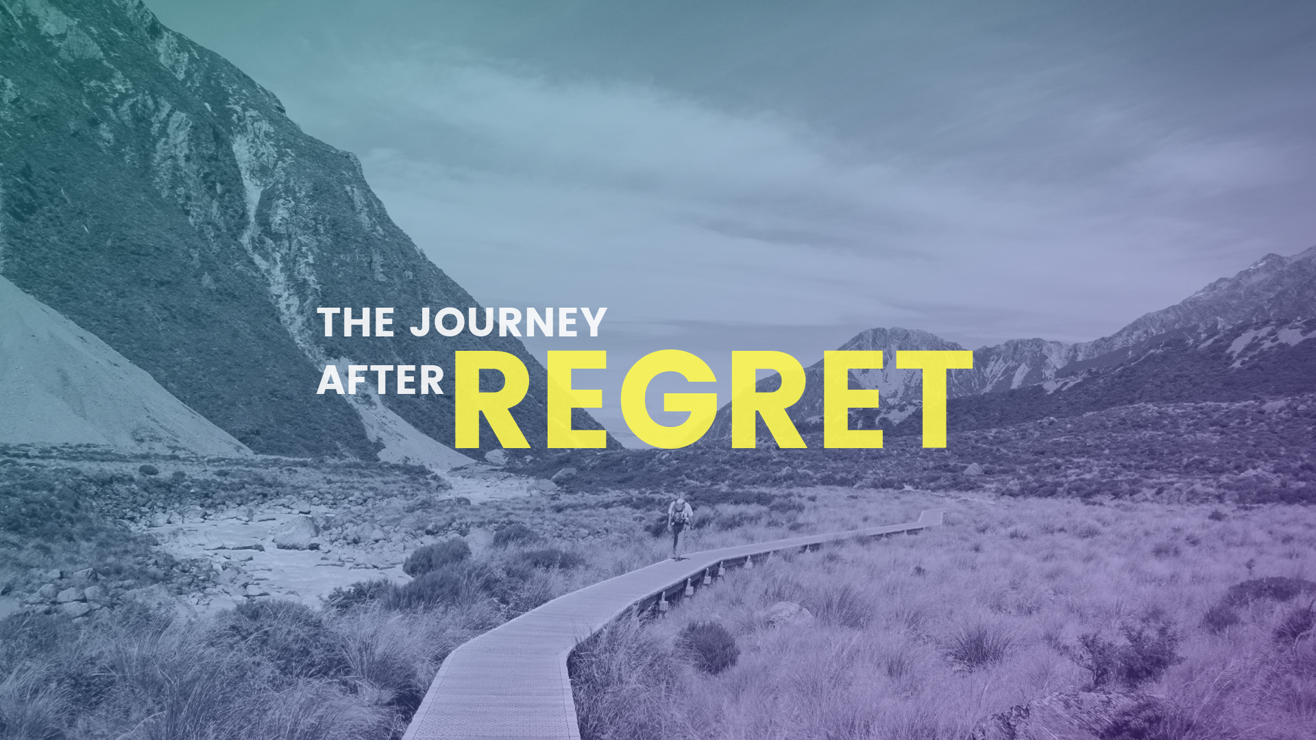 Baby Dedication/ The Journey After Regret